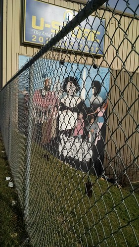 Mural on the Side of a Storage Facility