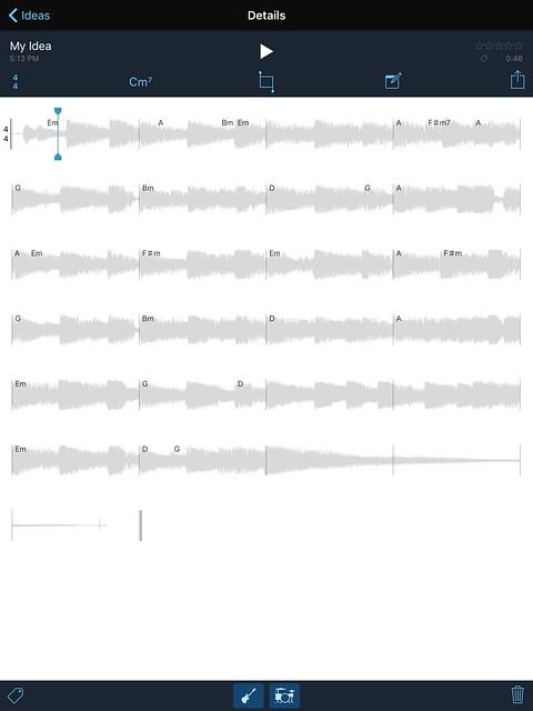 Music Memo App