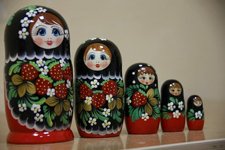 Russian or matryoshka dolls