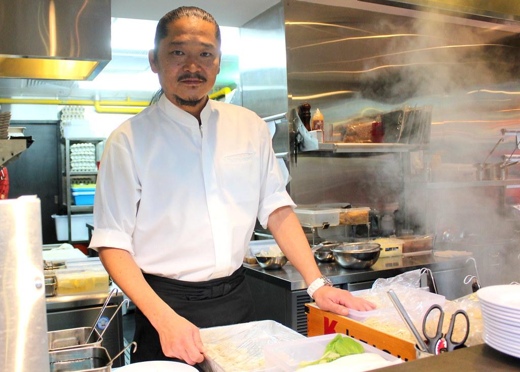 Ramen Keisuke Lobster King (Lobster Ramen) Chef Takeda