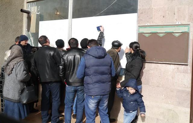 Քվեարկություն, 2016թ.-ի փետրվարի 14, Թեղուտ (Տավուշի մարզ)