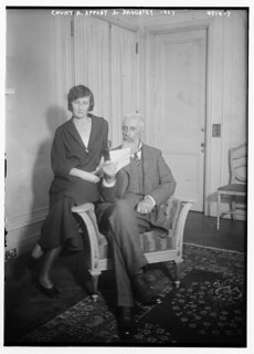 Count A. Appony [i.e. Apponyi] & daughter (LOC)