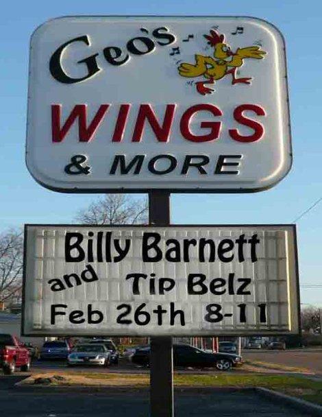 Billy Barnett 2-26-16
