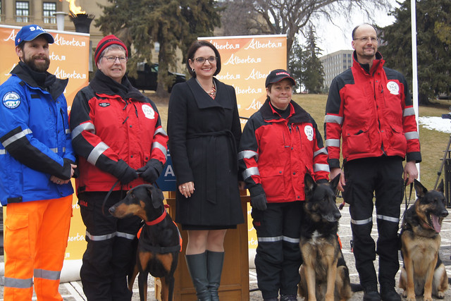Grant supports Search and Rescue team training