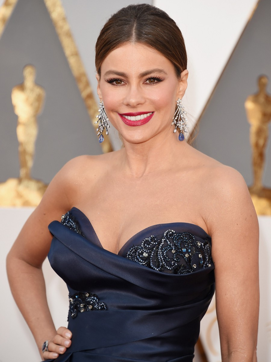 Oscars 2016 Sofia Vergara Hair and Makeup