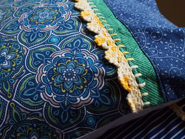 Demelza's pillowslip detail