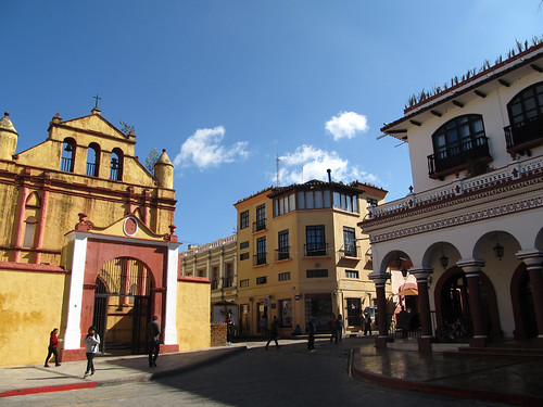 San Cristóbal de las Casas: les alentours de la Plaza 31 de Mayo
