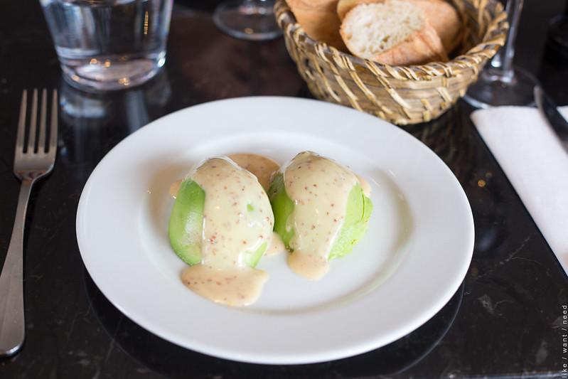 Avocado Vinaigrette, La Terrasse