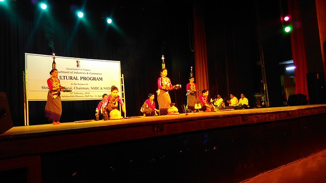 4 Cultural Function organised by Govt. of Tripura in honour of Mr. S. Ramadorai, Chairman, NSDA and NSDC