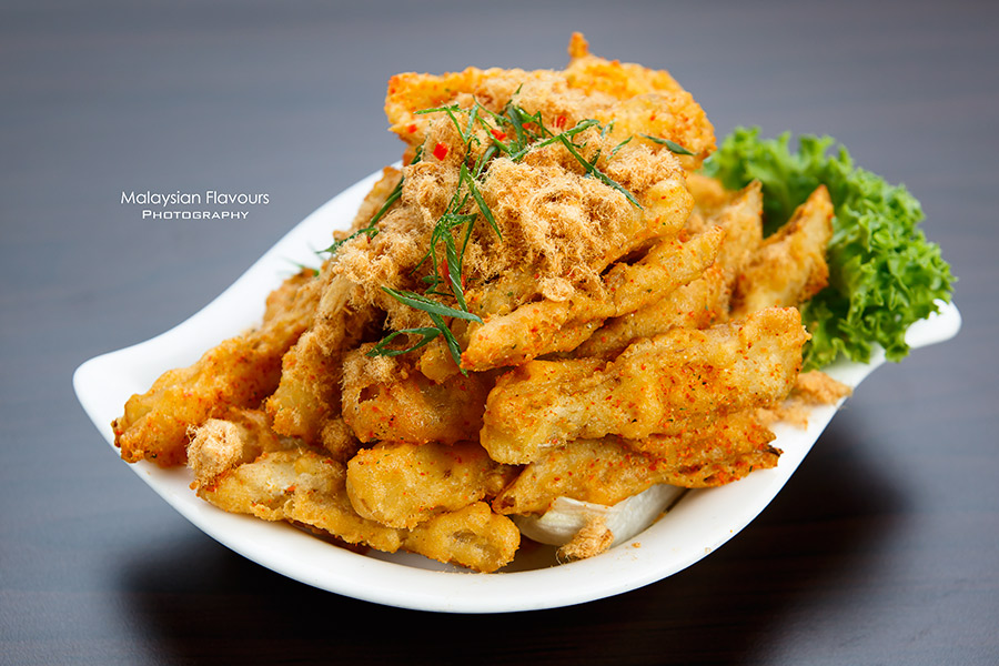 The Prince Restaurant 1Mont Kiara KL fried salt eggplant
