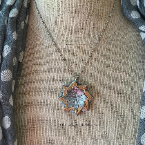 Origami Pendant Necklace by Nicole Lopez Mendendez