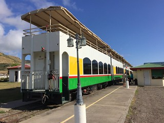 The Scenic Railway Tour is a historic and comfortable way to experience St. Kitts