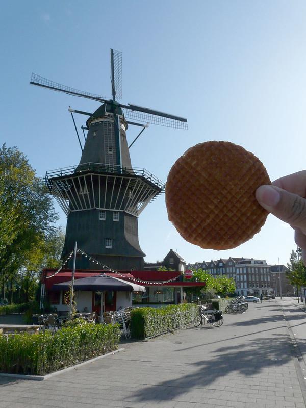 Moinho De Gooyer, Amsterdam, Holanda