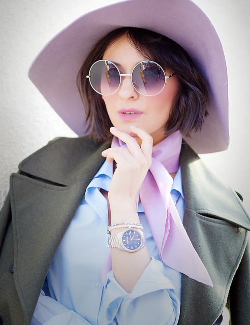 ellena+galant+girl-best-fashion-blogger-of-runet-lilac+scarf-lilac+floppy-hat