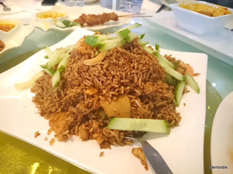 Nasi Goreng Fried Rice with Seafood in Belacan Sauce