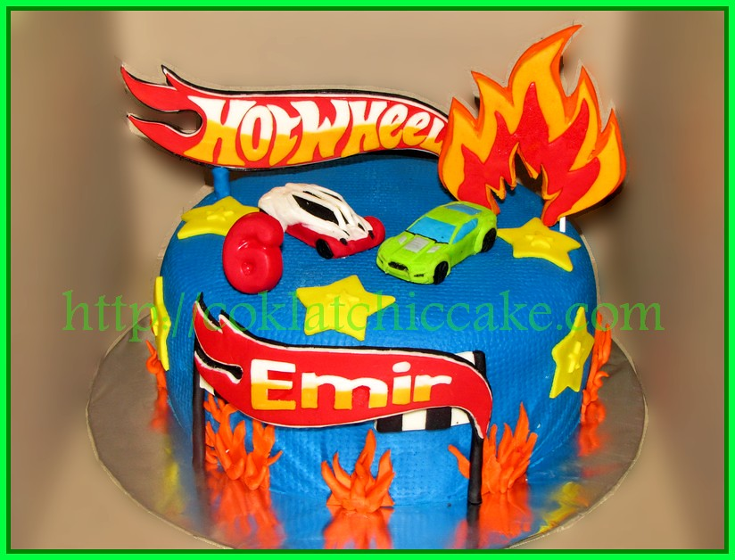IMG_5890Cake Hot Wheels