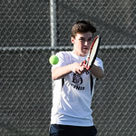 BHS Men's Tennis vs SV 3/22/16