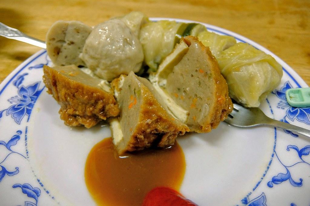 關東煮,因為我太晚去了,所以僅剩下幾樣可以選...關東煮就一般的食材,當作填填胃倒是不錯