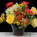Summer Flowers with Berries — Photo Courtesy The Rittners School of Floral Design, Boston