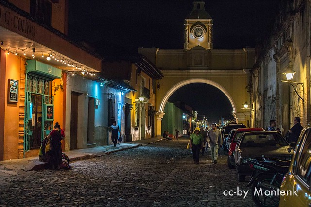 Colors in the night  - Antigua - Guatemala (2015)