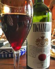 Vino de la notte - #wine #italian #1998 #tignanello