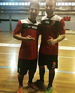 Lorenzo Difino (a sinistra) e Dario Lopez