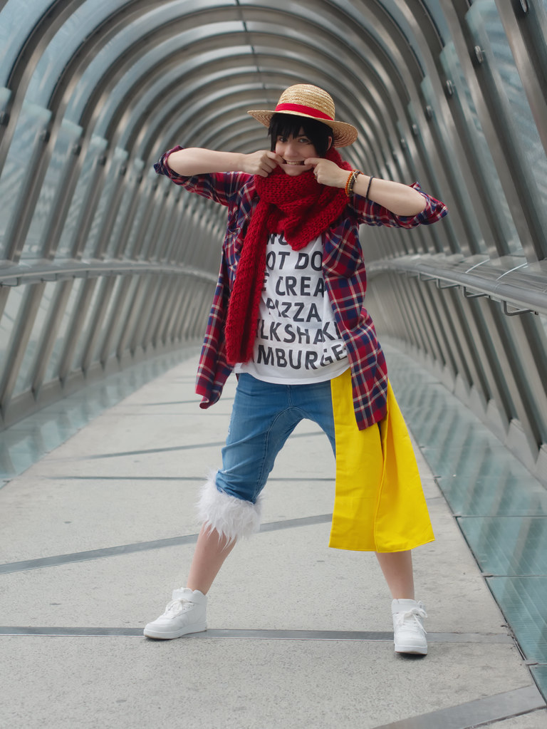 related image - Shooting Luffy - One Piece - La Défense - Paris - 2016-03-29- P1310137