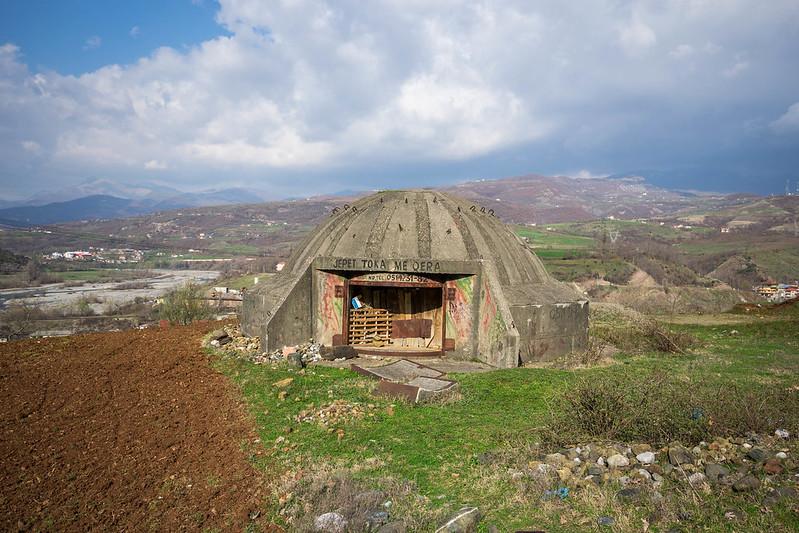 Bunker in Albania