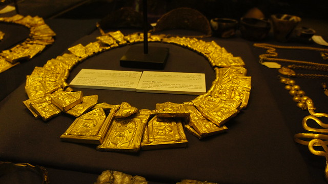 A Gold diadem at Egyptian Museum of Cairo
