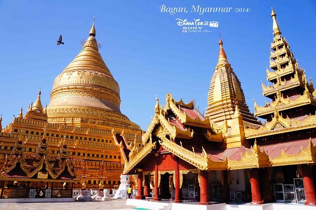 Bagan - Shwe Zigon Zedi 02