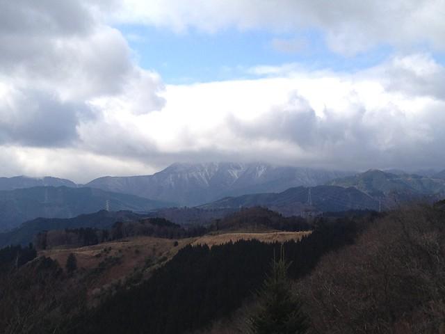池田山 森の駅殻の眺望 伊吹山方面
