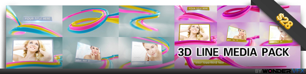 3D Line Media Pack Real Estate Gallery (Commercials)