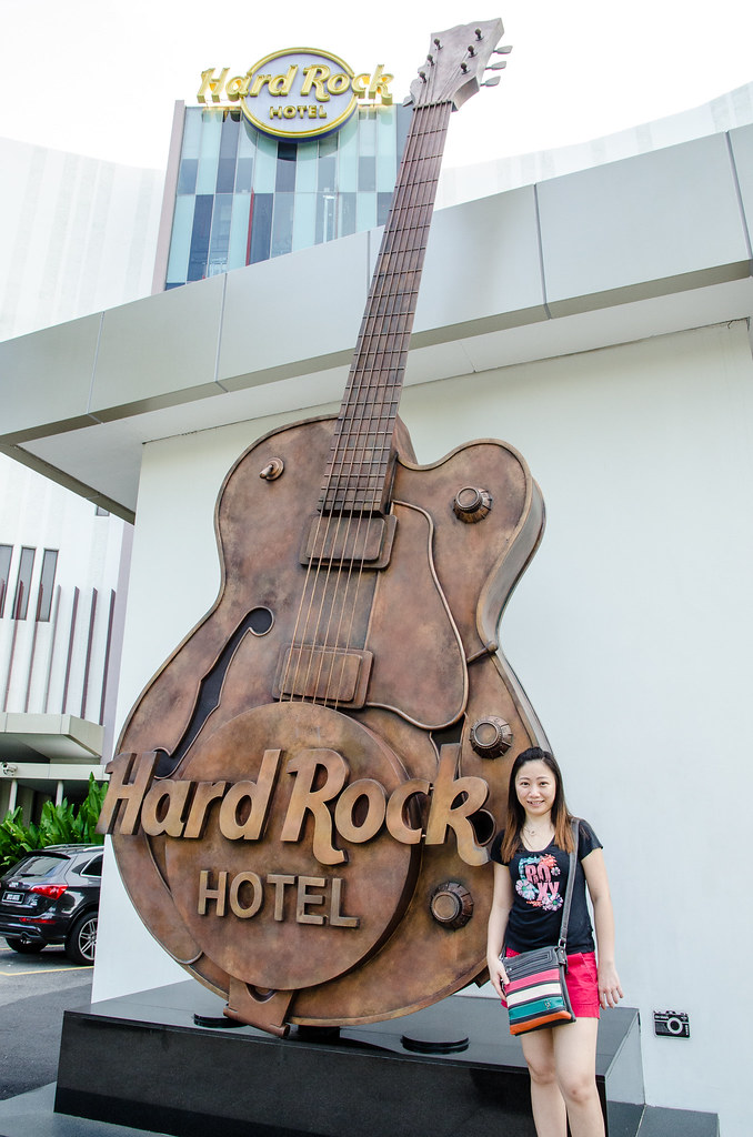 Guitar at Hard Rock Hotel Penang