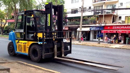 Hyundai Forklift - Santiago, Chile