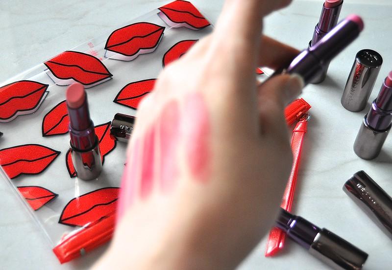 Urban Decay Revolution Lipsticks swatches 2