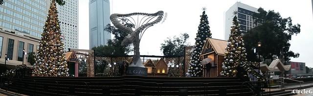 中環 CENTRAL HONGKONG 皇后像廣場 2015 CIRCLEG 聖誕裝飾 (3)