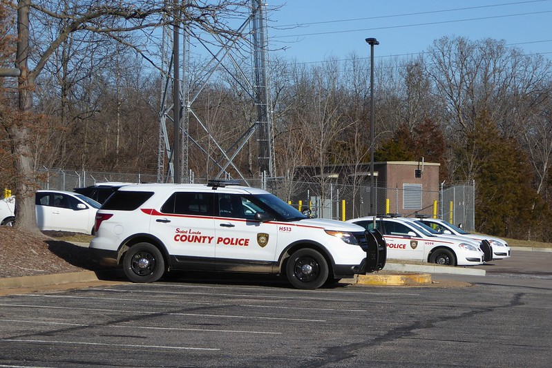 Saint Louis County Police Hiding
