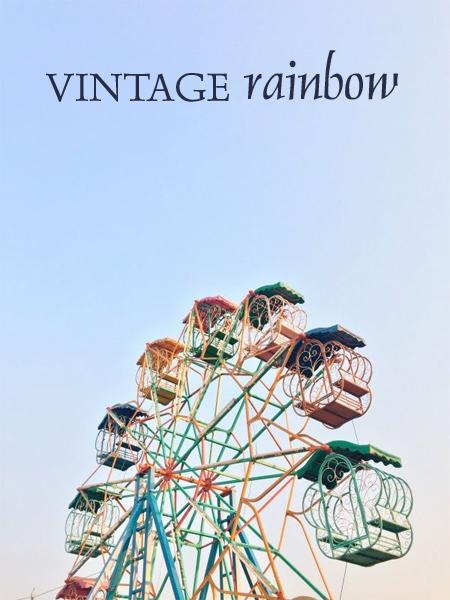 Vintage Rainbow {a mosaic contest}