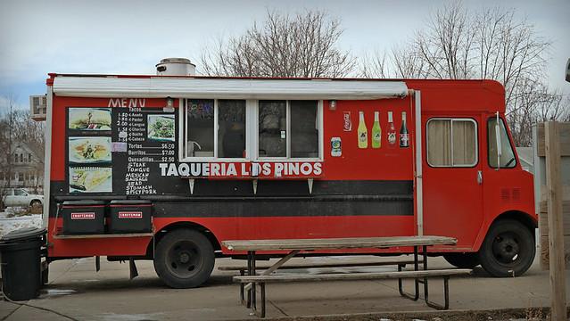 Taqueria Los Pinos Taco Truck in Des Moines, Iowa
