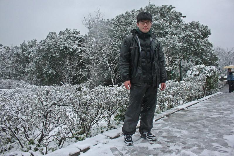 2016-台北陽明山-瑞雪-難得一見的雪白山景-17度C隨拍 (32)