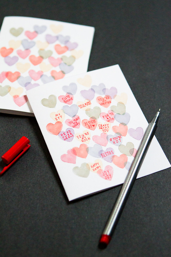 Sweetheart Candy Valentine Card