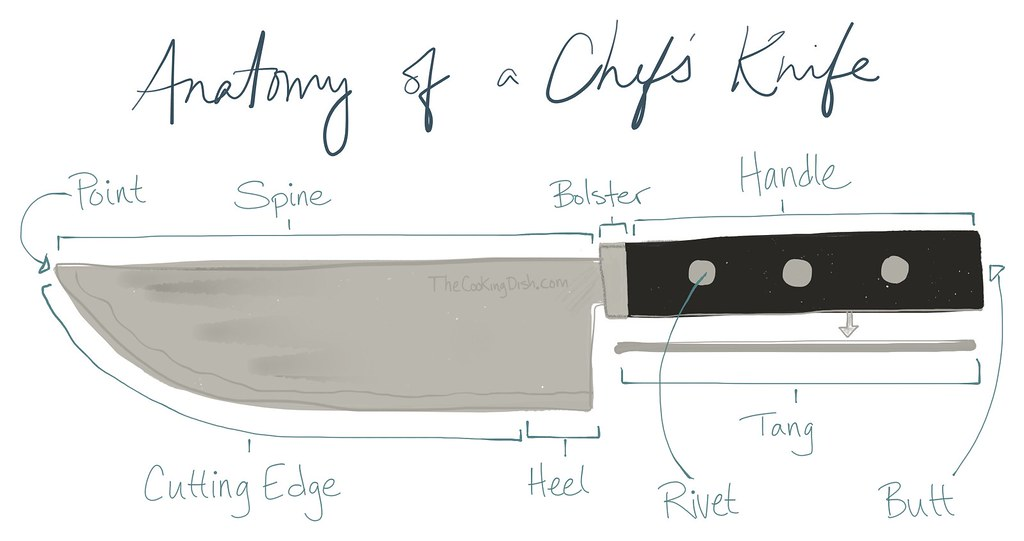 Anatomy of a Chef's Knife