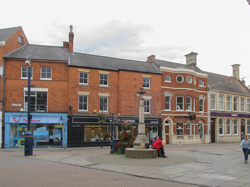 Butter Cross on Market Place, Melton Mowbray