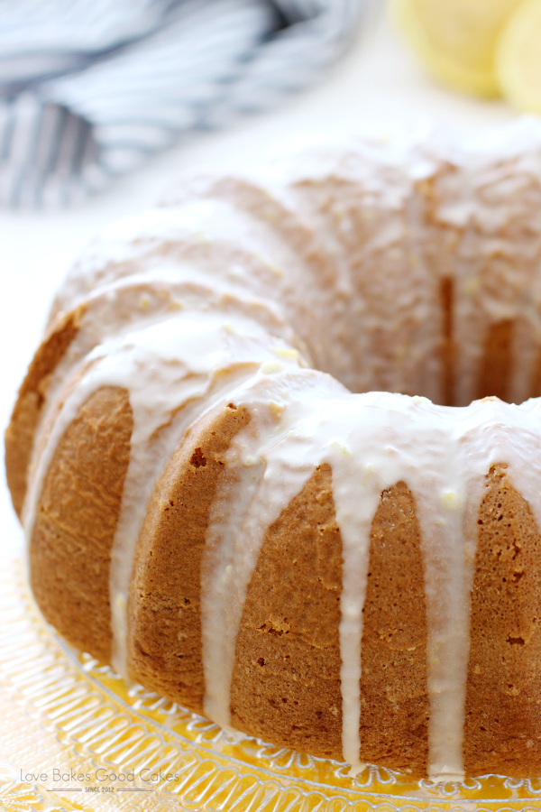 This Lemon Lover's Bundt Cake is everything you want in a lemon cake - sweet, lemony, moist and delicious! It's sure to become a favorite! AD #Hamiltonbeach