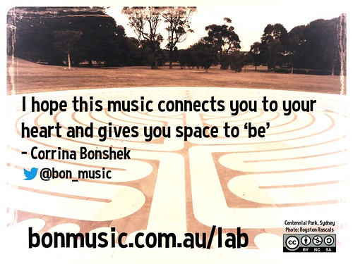 I hope this music connects you to your heart and gives you space to 'be' @bon_music @CentParklands @wildambience