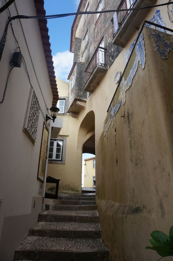 Exploring the Back Streets of Sintra