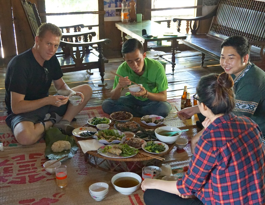 Lunch on Mai Chau Farm