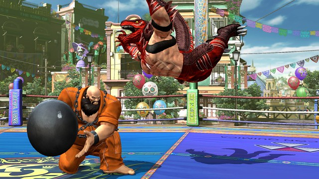 The King of Fighters XIV on PS4