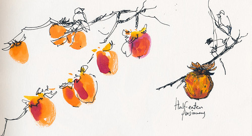 Sketchbook #94: Persimmon Orchard