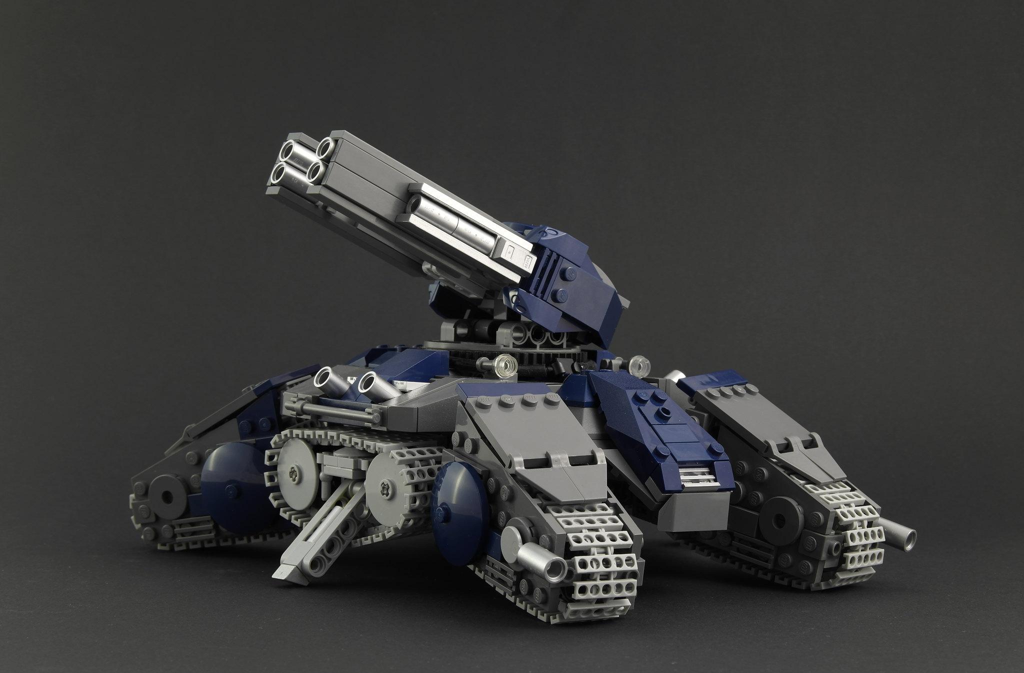 SC2 Siege Tank - Siege Mode